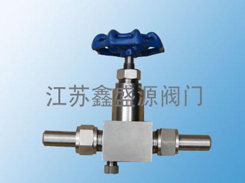 焊接压力表阀