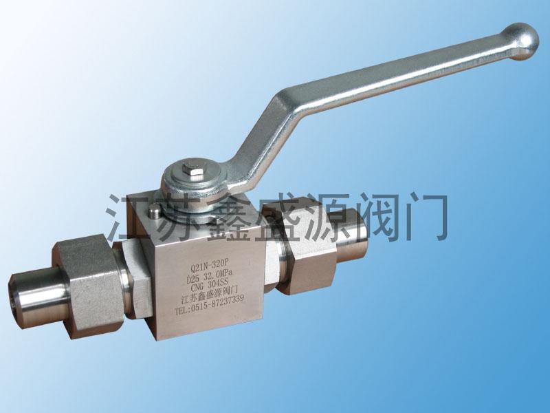天然气高压焊接球阀