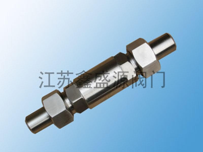 H21X外螺纹焊接止回阀