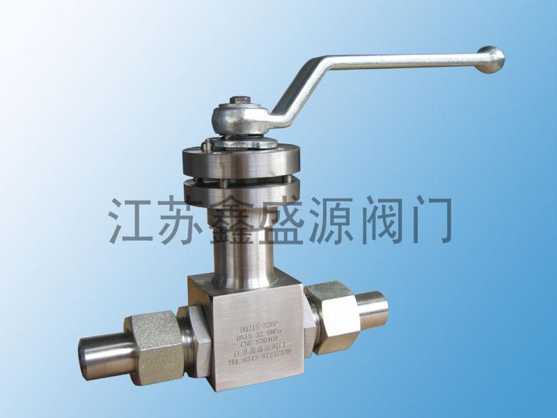 低温高压焊接球阀