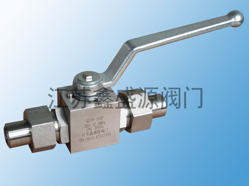 CNG加气站焊接球阀