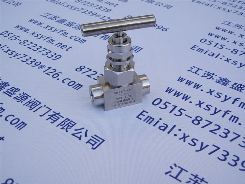 高温高压承插焊截止阀